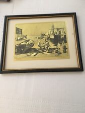 Lionel Barrymore -   Purdy's Basin - Gold Foil Etching