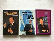 3 Peter J. Daniels Books How to be Motivated Reach Your Life Goals Mission Stmnt