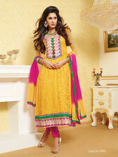 Dress Material Designer Georgette Brasso Semi stitched Suit Salwar suit