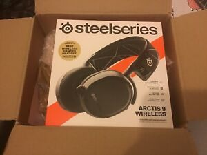 SteelSeries Arctis 9 Dual Wireless Over-Ear Headset - Black