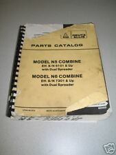 Gleaner /Allis Chalmers N5 and N6 Combine Parts Catalog