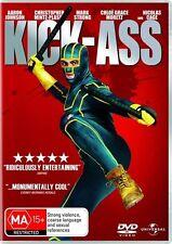 Kick-Ass (2010) Aaron Taylor Johnson - NEw DVD - Region 4