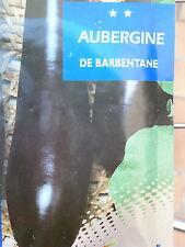 graines AUBERGINE de Barbentane semence, expédition rapide SEEDS de France..1er