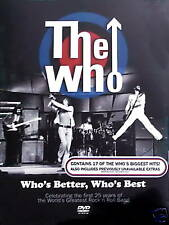 WHO (The) Who's Better, Who's Best DVD SIGILLATO