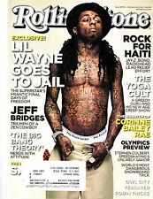 LIL WAYNE~Rolling Stone Magazine~Issue 1098~Feb 18, 2010~Excellent
