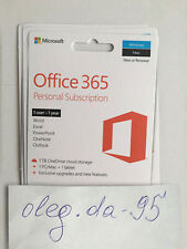 Microsoft Office 365 Personal | for 1 Year and 1 Pcs