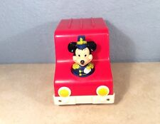 Vintage RARE FIND Mickey's Musical Parade Van With Friends L.J.N. Toy Hong Kong