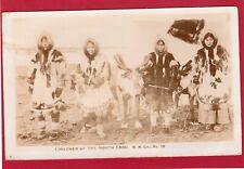 More details for eskimo inuit children ? rp pc 1909 white horse yukon postmark ak728