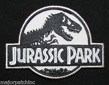 JURASSIC PARK EMBROIDERED LOGO COSTUME UNIFORM SWAT MOVIE VELCRO® BRAND PATCH