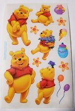 Sandylion Vintage winnie the pooh Stickers lot of 6 SHEETS 4 X 6 free shipping