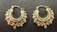 9ct Gold Creole Earrings - Ladies/Child- Boxed - Hallmarked - Small