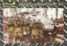 Caesar Miniatures 1/72 WW2 German Panzergrenadiers (Kharkhov 43)