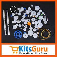 (80pcs) DIY Transmission Plastic Gear Motor Robot Science technology KG397