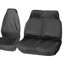 RENAULT TRAFFIC 2014 ONWARDS - Black Van Seat Covers protectors 100% WATERPROOF