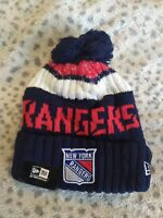 New York Rangers Cap Hat NHL Hockey New Era Beanie
