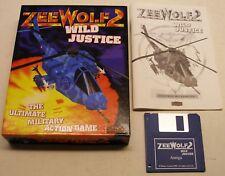 RARE Zeewolf 2 Zee Wild Justice by Asylum for Commodore Amiga