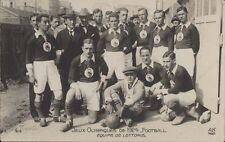 FOOTBALL JUEGOS OLIMPICOS 1924 EQUIPE DE LETTONIE 313  REAL PHOTO