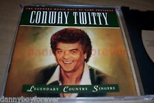 Conway Twitty CD Legendary Singers Country Music Hall of Fame Presents Time Life