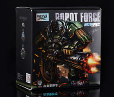 Wei Jiang Transformers Alloy revision M02 Robot Force Detective hound Figure