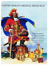 CAPTAIN MORGAN Original Spiced Rum advertisement A4 size HQ print