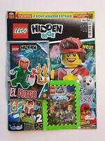 Lego®Hidden Side Magazin Nr.4 mit Figur El Fuego+Sticker J.World   ,Neu,OVP