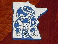 MINNESOTA TWINS Vintage Old MLB RUBBER Baseball FRIDGE MAGNET Standings Board
