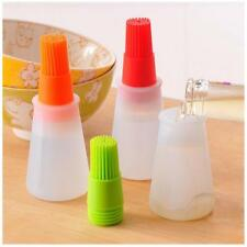 Utensil Silicone Bake Pen Baking Oil Rubber Brush With Liquid Storage Chef Tool