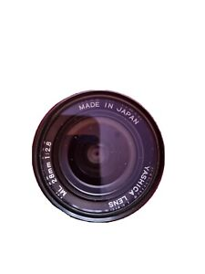 Vintage Yashica Lens ML 28mm 1:2.8 EF adapter For Canon - Mint Condition