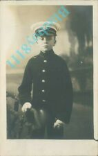 More details for royal marine boy musician 1903-05 real photo unposted