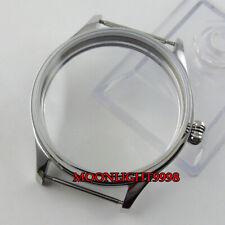 6498 6497 hand winding mens movement 44mm parnis watch sterile Case fit eta