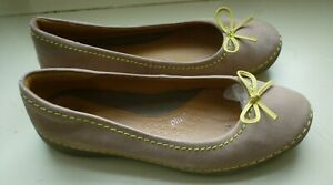 Women's flat ballet pump flats Clarks size UK 5 and EUR 38