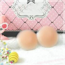 Silicone Invisible Soft Nipple Cover Breast Bra Pad Skin Seft Adhesive Reusable