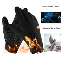 Winter Outdoor Cycling Ski Sports Gloves Touch Screen Warm Men Women Gloves