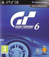 GRAN TURISMO 6 PS3 PLAYSTATION 3 NUOVO SIGILLATO ITALIANO IL MONDO LA TUA PISTA