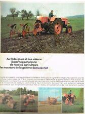 R- Publicité Advertising 1968 Les Tracteurs Gamme Someca Fiat