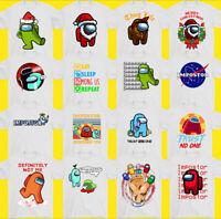 Parmi US T-Shirt,Impostor,Jeux,Joueur,Imposteur,Hommes,Enfants,Garçons Haut