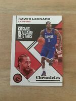 2019-20 Panini NBA Chronicles Kawhi Leonard