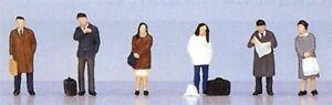 Kato 24-204 Model People 'Standing Passengers' (N scale)