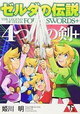 Zelda no Densetsu Legend of Zelda Four Swords Adventures #2 Manga HIMEKAWA Akira