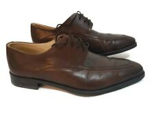 Ambiorix handmade brown lace up oxford leather shoes size eu 42, us 8.5, uk 8