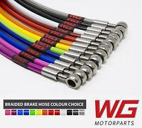 WG Front Braided Brake Hose Kit for Alfa Romeo Mito ALL Models (2008+)