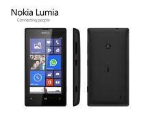 Nokia Lumia 520 in Black Handy Dummy Attrappe - Requisit, Deko, Ausstellung