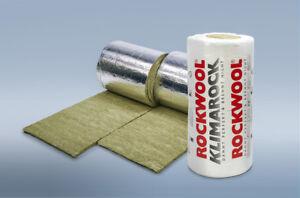 Rockwool Klimarock Steinwolle Rolle 30 mm / 3,05 m² Isolierung Dämmstoffe