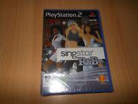NEW FACTORY SEALED SINGSTAR R&B  PLAYSTATION 2 PS2 PAL VERSION