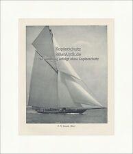 S. M. Rennyacht Meteor Kaiser Wilhelm II Segelyacht Regatten Preußen UK 076