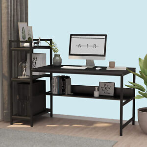 Large Computer Desk Home Office Desks Laptop PC Table Workstation Writing Gaming