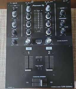 Pioneer DJM-250MK2 DJ Mixer (BRAND NEW-OPEN BOX) ONLY SHIPS WITHIN THE USA