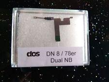 Dual Abtastnadel DN 8-78, Wendenadel, Schellack, 78 rpm Nachbau
