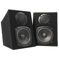 Pair Fenton 2-Way Passive Home DJ MC Studio Monitor Speakers 8 Ohm 2x100W Power