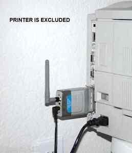 D-Link DP-311P Wireless Print Server (1 Centronics Port) 802.11b (11 Mbps) & AC